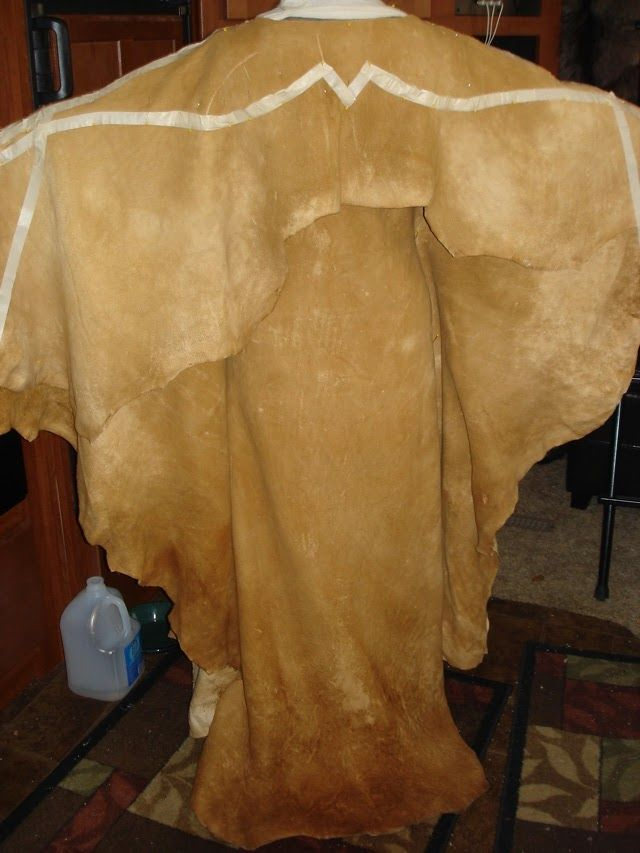 Taped 2 Hide Pattern Front   Here you can see I have taken the yoke I cut off in the last posting , flipped it over and draped over the un...