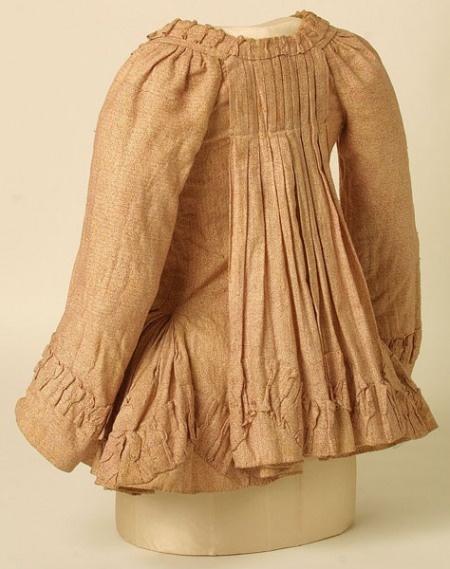 Pet-en-l'air jacket, 1780-90.