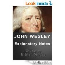 John Wesley's commentary on the whole Bible was produced between 1754 and 1765. Includes introductory notes to each book.  http://www.biblestudytools.com/commentaries/wesleys-explanatory-notes/