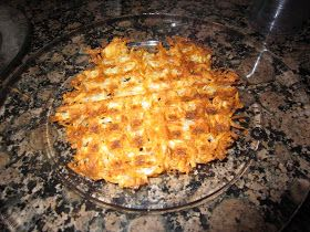 Eclectic Momsense: Waffle HashBrowns