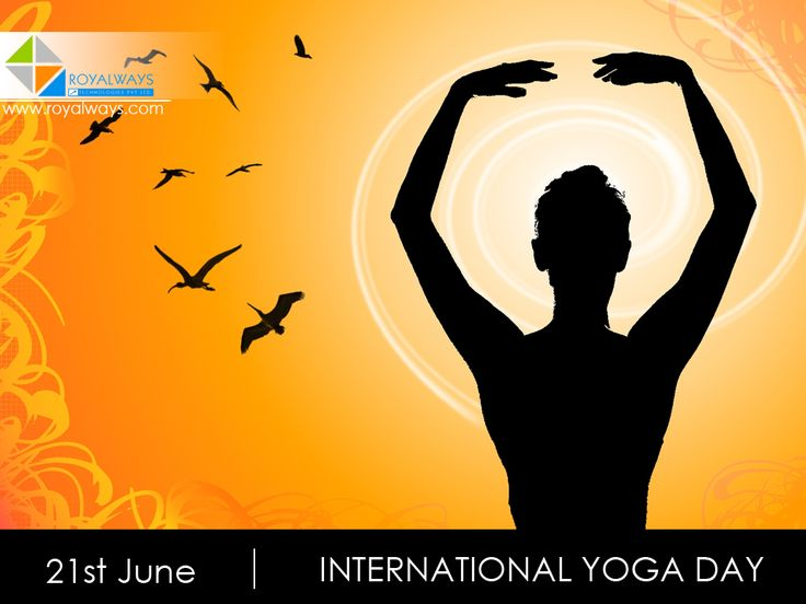 Yoga helps to achieve control over the mind and flexibility of the body!  On the first #International #Yoga #Day, we hope you remain #healthy throughout the year!