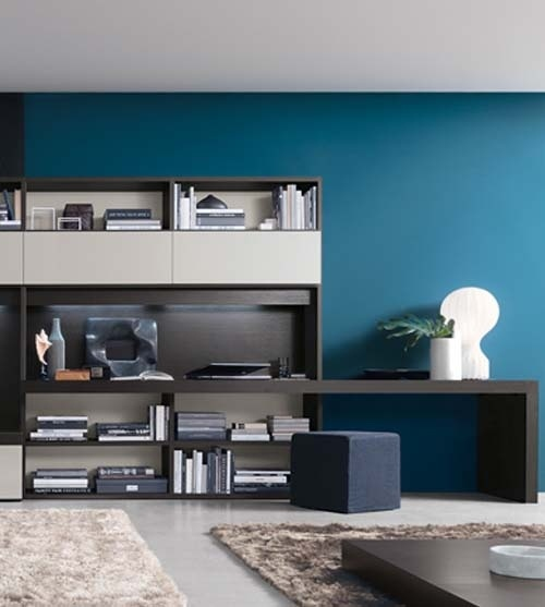 Home Interior Design With Open Wall System Furniture Collection By Jesse SF