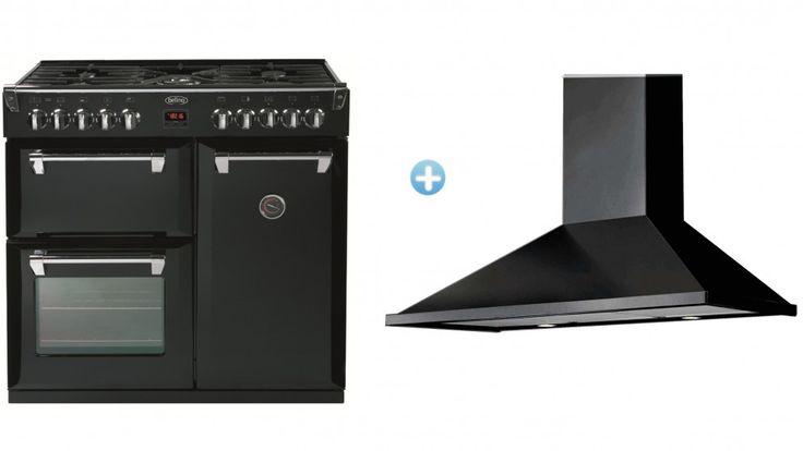 Belling Richmond 90cm Freestanding Cooker Package - Black - Freestanding Cookers - Appliances - Kitchen Appliances | Harvey Norman Australia