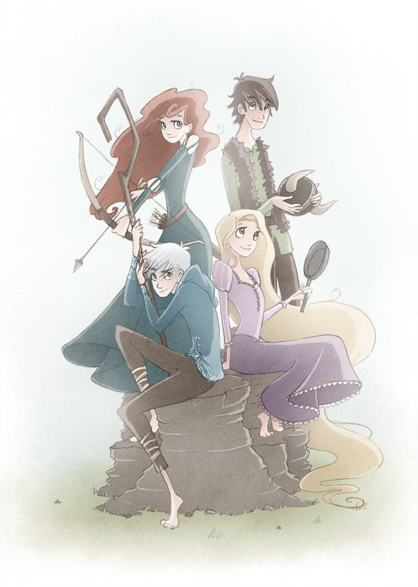 The big four by TwilightSaphir.deviantart.com on @deviantART