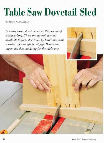 17 best diy images on pinterest woodworking carpentry and table saw dovetail jig plan woodworkers journal solutioingenieria Image collections