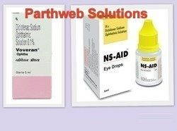Voveran Ophtha, Ns-Aid (Diclofenac Sodium Eye Drops)