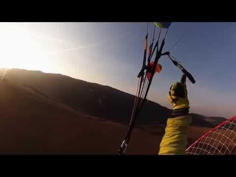 sunset power paragliding - Justfly.sk - YouTube