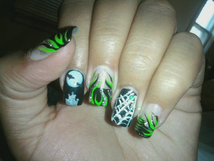 Halloween Nails Nail Ideas Makeup