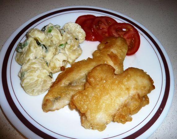 25 b sta crispy batter for fish id erna p pinterest for Light batter for fish