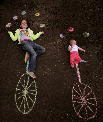 Creative Sidewalk Chalk Photos by The Burgh Baby