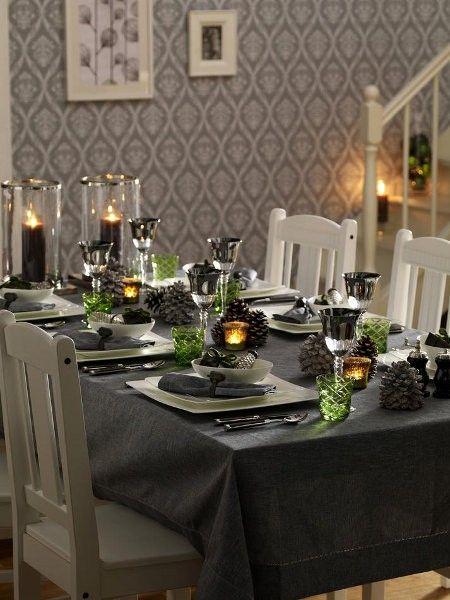 58 besten Tischdeko für Weihnachten Bilder auf Pinterest - servietten falten tischdeko esszimmer