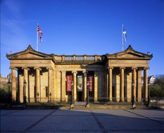 National Gallery of Scotland - worth an hour or two of art appreciation. :)