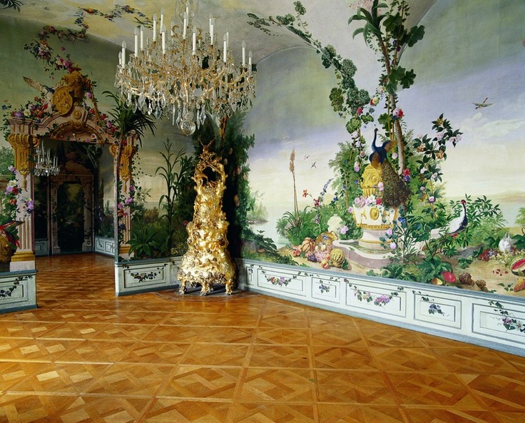Wasserfeste Tapete F?rs Bad : Schoenbrunn Palace Rooms
