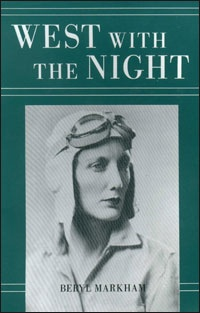 West With The Night by Beryl Markham, while there are those who do not believe the famous aviatrix   actually penned her memoirs, the stories are authentic AND remarkable. The writing is so well done that Ernest Hemingway declared himself a carpenter of pig pens in comparison - highly unusual for the esteemed writer.