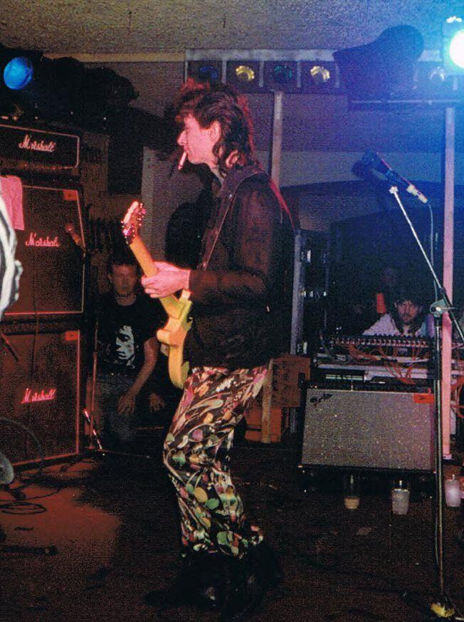 Johnny Thunders at the Bierkeller in Bristol, United KIngdom Nov. 29th 1987