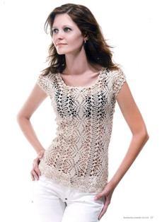 Rabescato: white lace top