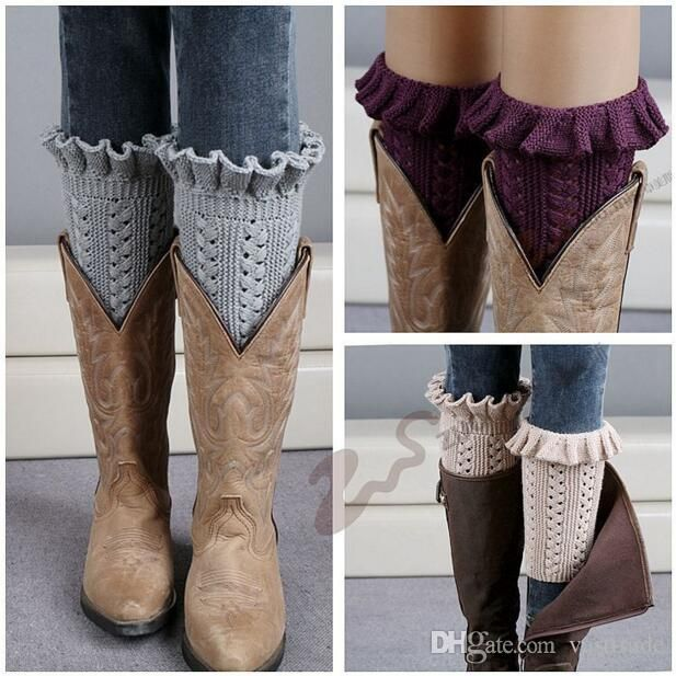 Wholesale cheap grace leg warmers gender -women knit knee leg warmers boot cuffs fashion lace flanging design short boots socks cuffs gaiters crochet boot socks cuffs from Chinese socks & hosiery supplier - vasttrade on DHgate.com.
