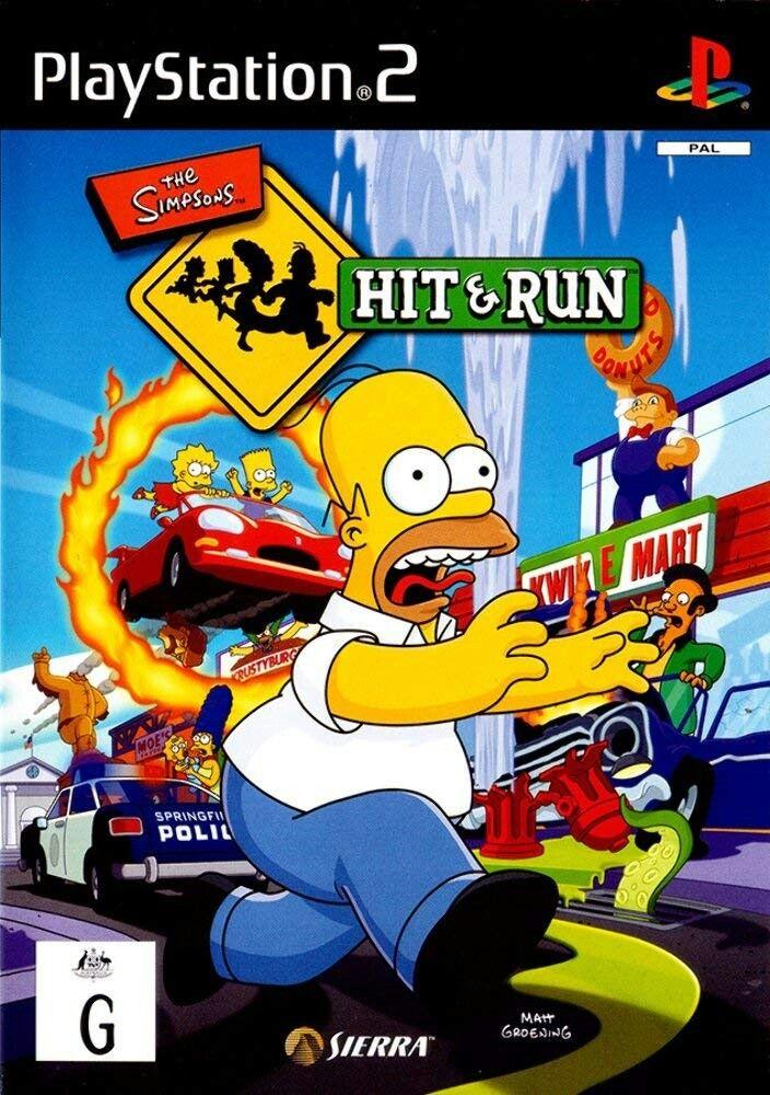The Simpsons Hit and Run [PAL Australia] imagens