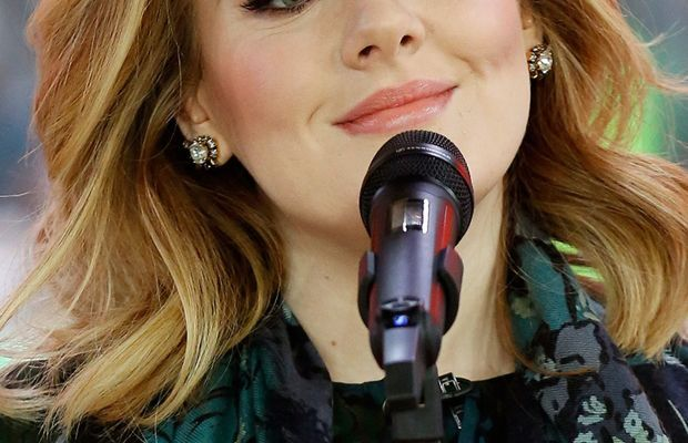 Adele on the 'Today' show in 2015.