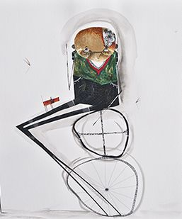 """Juan Carlos Vasquez Lima - First saw his artwork in P-town 8/13 """"Pacto para procrear (The pact to procreate)"""""""
