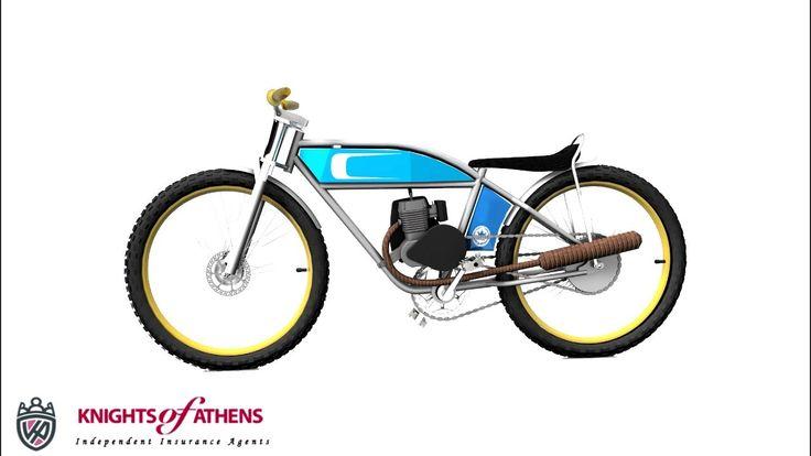 ασφαλεια μοτοποδηλατου 50cc | 210 92 00 277 - YouTube