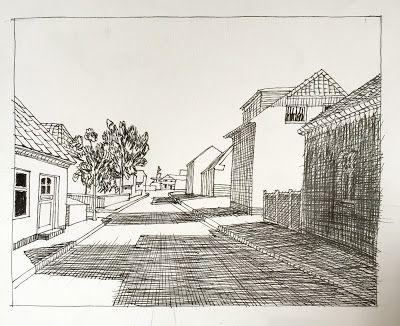 Lars Horneman: Penne serie #5 Motiv fra Skagen