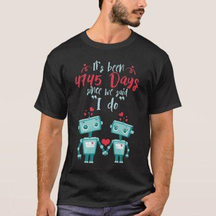 13th Wedding Anniversary ShirtCute Gift T Shirt