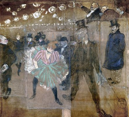 Анри де Тулуз-Лотрек. Танцы в Мулен-Руж