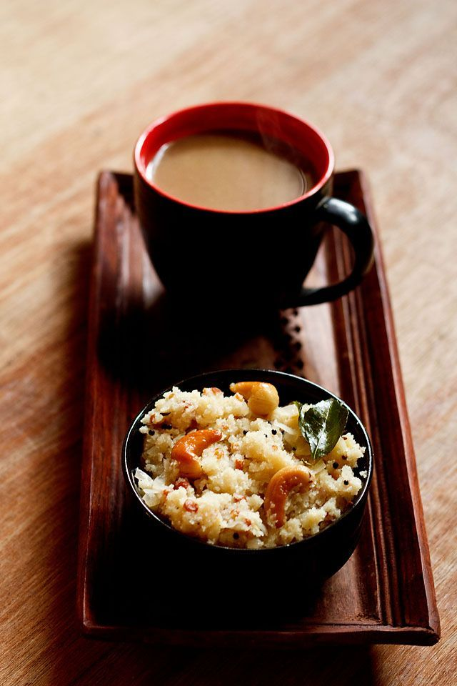 uttapam and tea