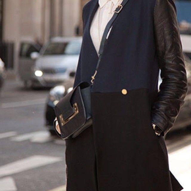 The sleekest way to wear your bag? Cross-body Sophie Hulme. MATCHESFASHION.COM #MATCHESFASHION