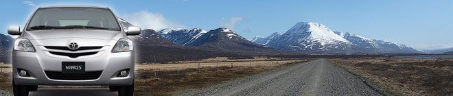 Route 1 Car Rental Iceland - Rent a car in Iceland - Free pick up