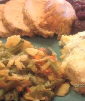 Four slow cooking recipes for the perfect Crockin' Thanksgiving feast..... Julie says