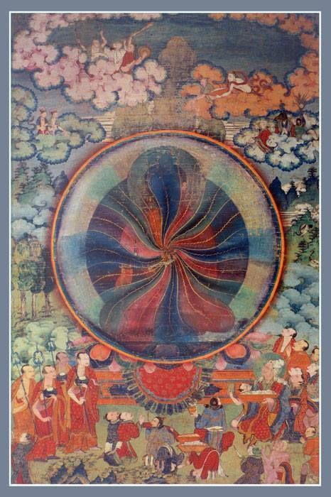 Naldjor Buddha as Rainbowbody