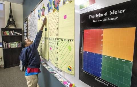 Teaching moody middle schoolers to cope with emotions helps reduce suspensions