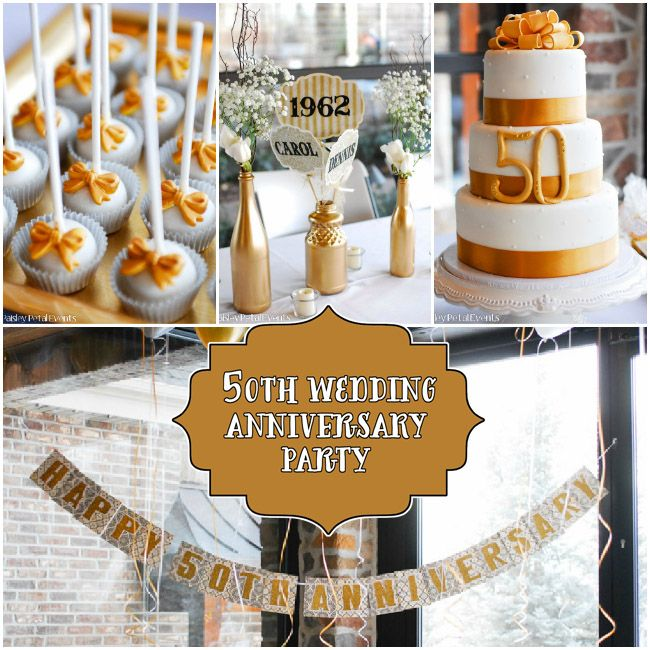 50th Wedding Anniversary Ideas Pinterest : 50th anniversary