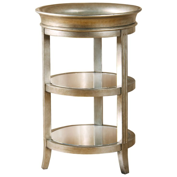 Astoria Grand Versailles Mirrored End Table