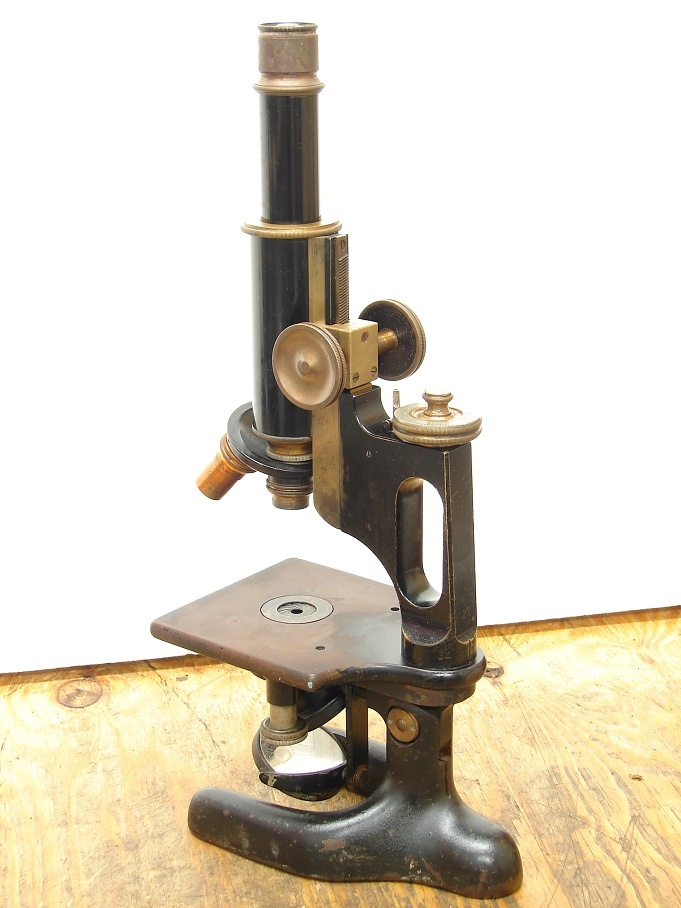 Antique Bausch Lomb Microscope Vintage Science Lab Equipment | eBay