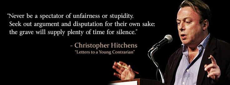 Image result for hitchens quotes