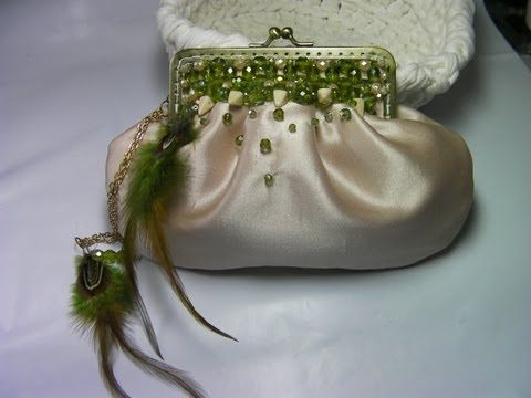 DIY BOLSO DE FIESTA CON PEDRERIA PRECIOSO.DIY PARTY BAG WITH BEAUTIFUL RHINESTONES