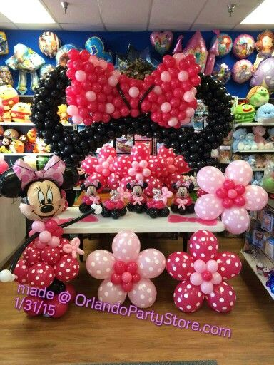 #minniemouse #balloontwist #balloonarch