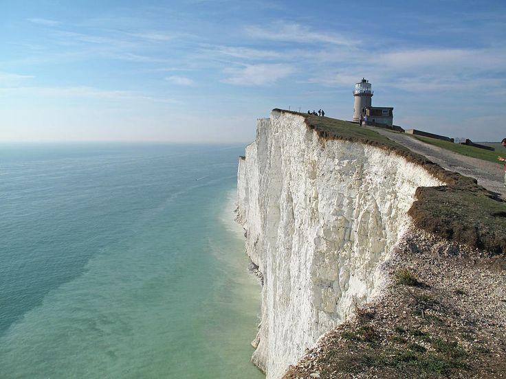 Belle Tout Lighthouse, East Sussex. Photograph  - Belle Tout Lighthouse, East Sussex. Fine Art Print