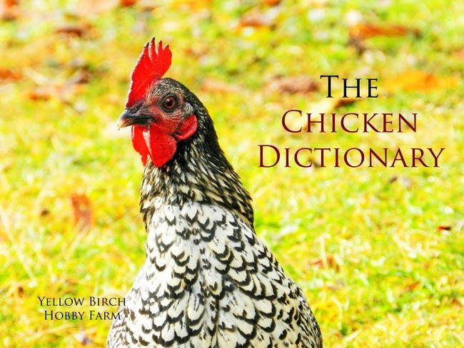 The Chicken Dictionary from Yellow Birch Hobby Farm