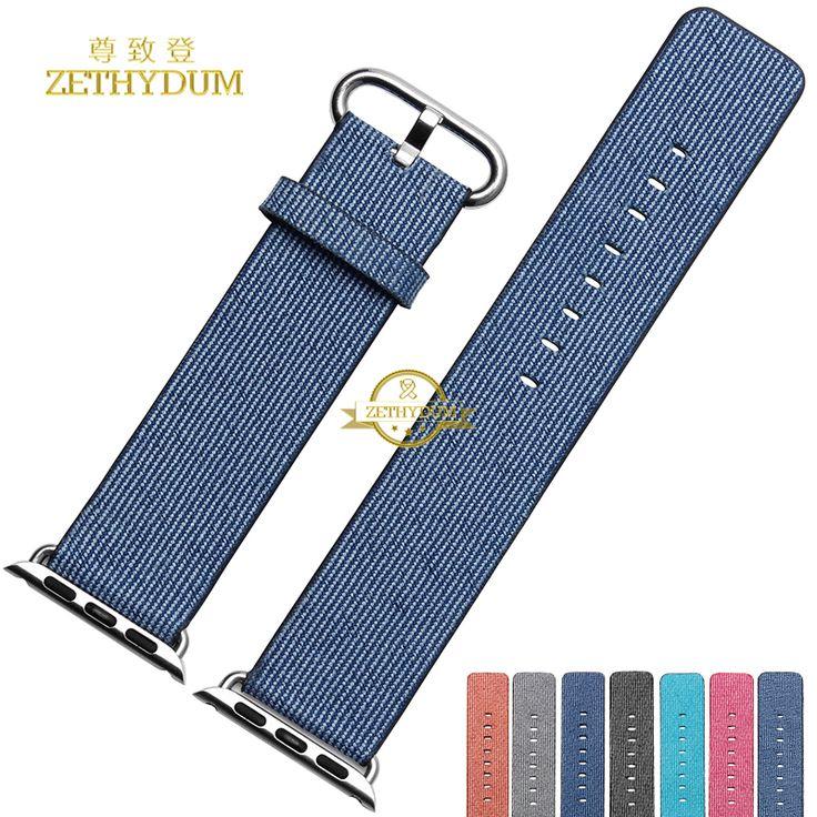 $29.90 (Buy here: https://alitems.com/g/1e8d114494ebda23ff8b16525dc3e8/?i=5&ulp=https%3A%2F%2Fwww.aliexpress.com%2Fitem%2FFabric-Smart-watch-band-Fiber-canvas-bracelet-for-apple-watchband-38mm-42mm-waterproof-perlon-Sports-fashion%2F32691310607.html ) Fabric Smart watch band Fiber canvas bracelet for apple watchband 38mm 42mm waterproof perlon Sports fashion wristwatch strap  for just $29.90