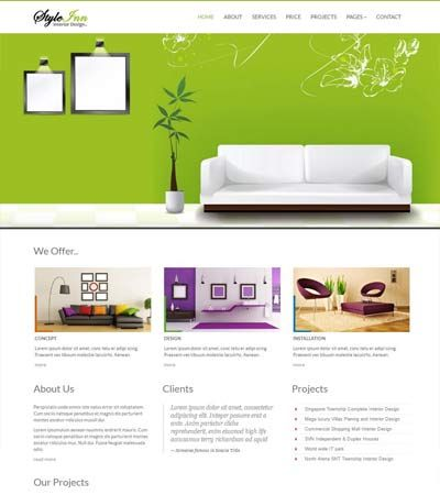 Interior-Design-Responsive-Website-Templates