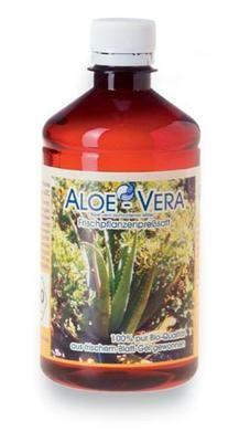 Aloe Vera Saft kaufen im Onlineshop - reines Gel aus Frischblatt