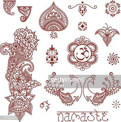 henna art namaste image - Google Search