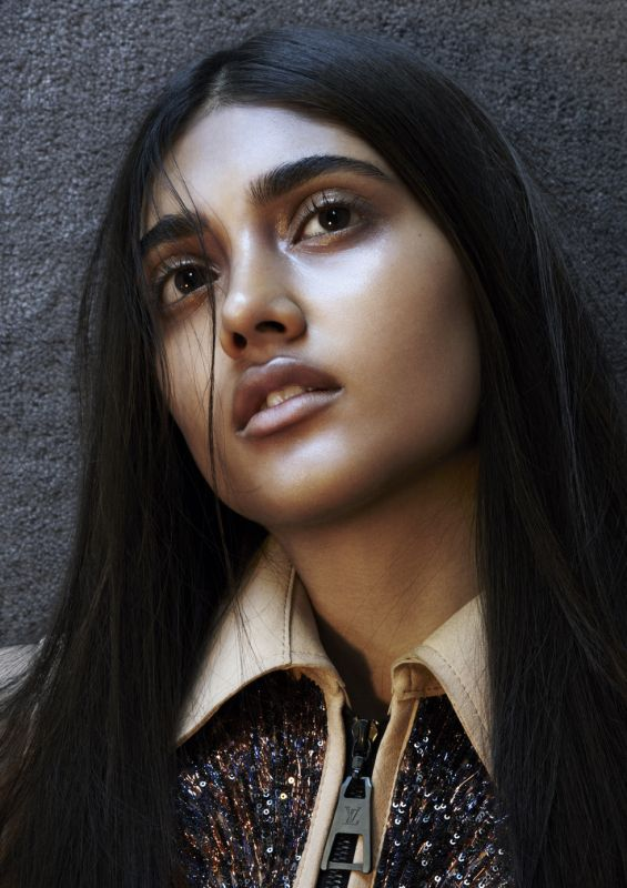 LOUIS VUITTON: SLATE editorial by Hunger TV photography Katja Mayer  fashion editor Kim Howells  model Neelam Gill