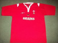 2004 2005 Wales Rugby Union Home Shirt Adults Large