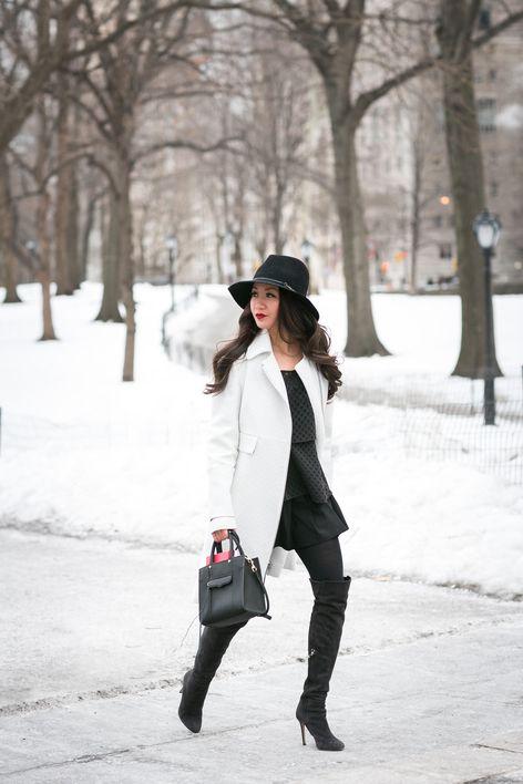Winter Wonderland :: White coat