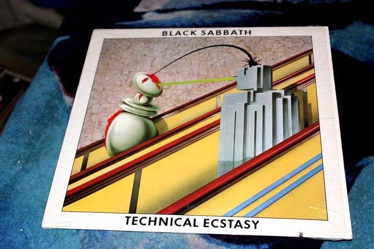 Black Sabbath – Technical Ecstasy LP Vinyl Still in Shrink Nice
